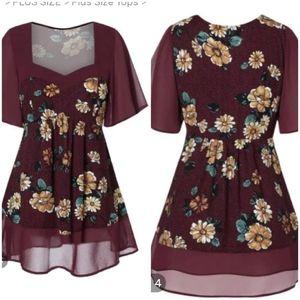 Rosegal short sleeve blouse